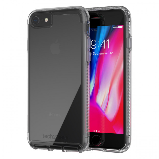 TECH21 PURE CLEAR CASE FOR IPHONE 7/8 CLEAR