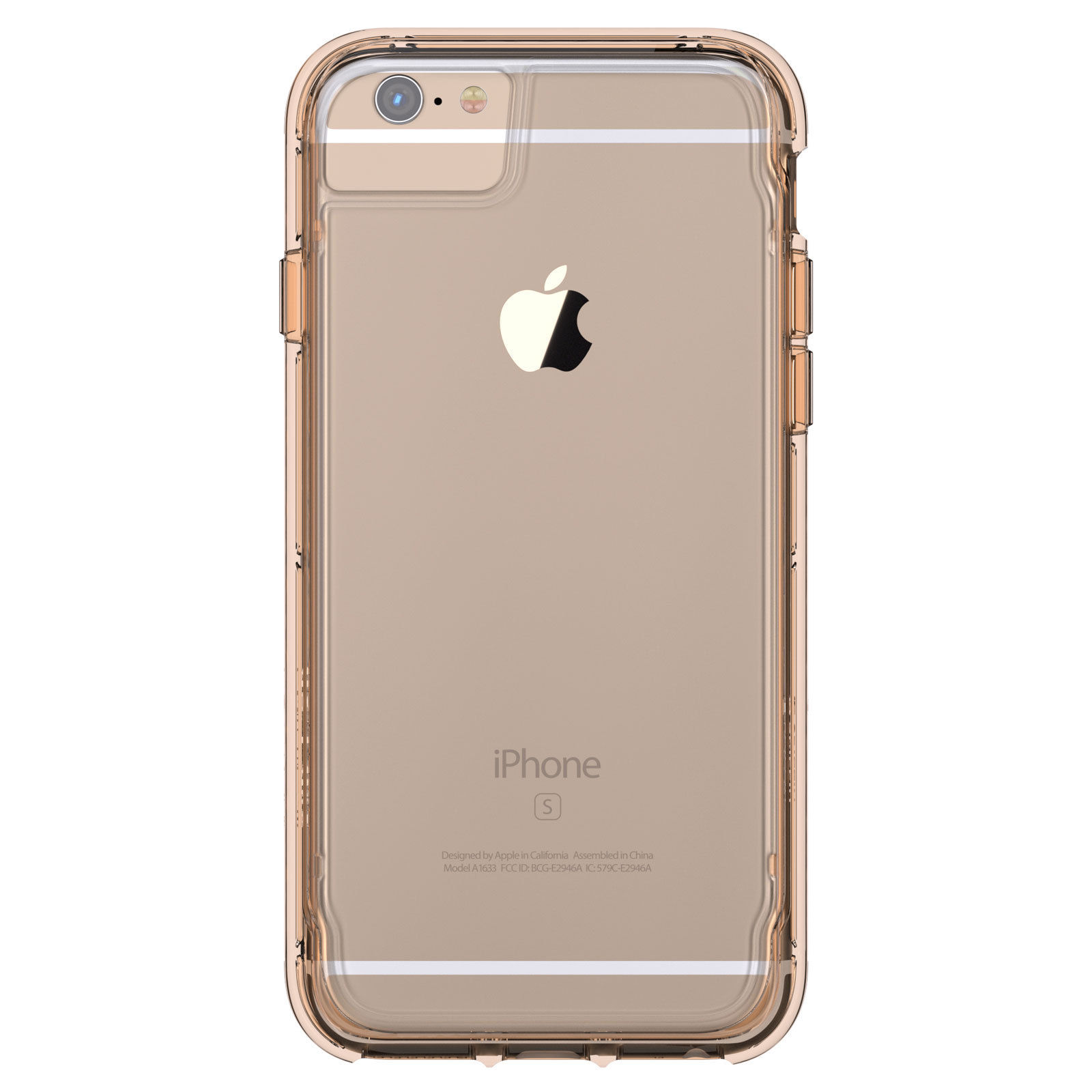 GRIFFIN SURVIVOR CLEAR FOR IPHONE 6 PLUS GOLD/CLEAR