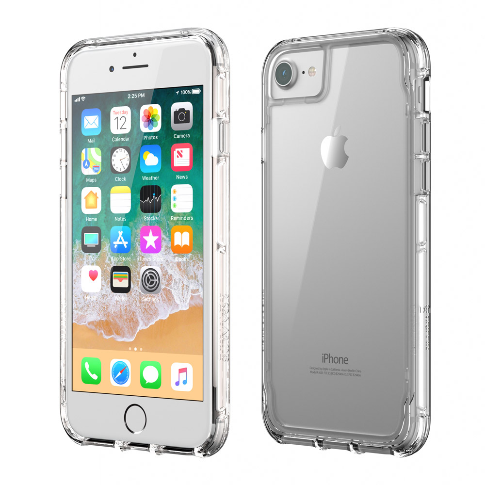 GRIFFIN SURVIVOR CLEAR CASE FOR IPHONE 7/8 CLEAR