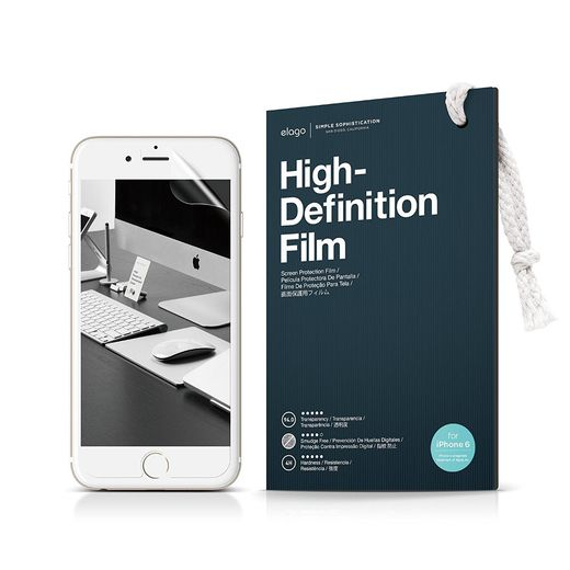 ELS6 HD Elago Pelicula Protectora HD iPhone 6 plus