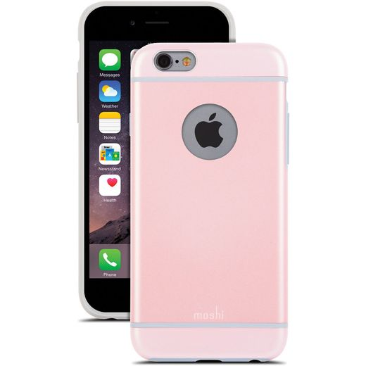 MOSHI IGLAZE CASE FOR IPHONE6 PINK