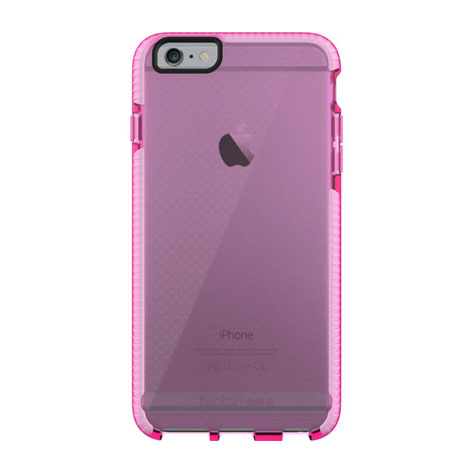 TECH 21 EVO MESH CASE FOR IPHONE 6 PINK