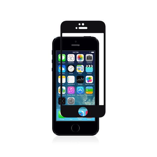 MOSHI IVISOR GLASS FOR IPHONE 5/5S/5C BLACK