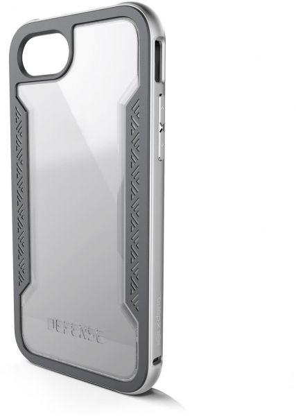 X-Doria Defense Shield for iPhone 7 - Silver